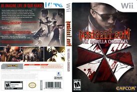 Nintendo wii Resident Evil Chronicles boxed complete