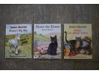 Hardback James Herriot books