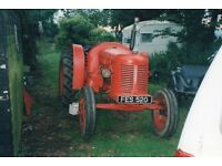 Wanted Old Farm Tractors & Any Type of Plant
