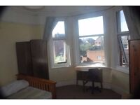 Large double room rent includes all bills clean and quiet houseshare