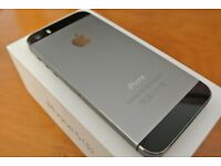 iPhone 5S - 16GB & 32GB Grey - Boxed with accessories - Grade A - sim free unlocked to any network