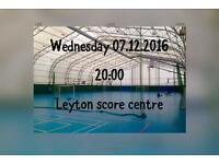 Futsal(indoor football) 5a side players wanted