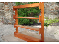 Large Solid Pine Kitchen Wall Unit - *Free Local Delivery
