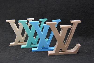 Luxury logo #1, Silicone Mold Chocolate Polymer Clay Jewelry Soap Wax Resin
