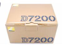 Nikon D7200, boxed as new in pristine condition