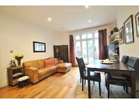 Elgin Avenue - Superb 2 bedroom flat with large private garden offered on an unfurnished basis