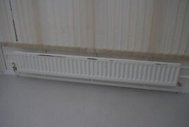 Radiator, 200cm x 30cm. In need of some TLC.