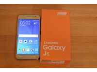 SAMSUNG GALAXY J5(DUAL SIM),BRAND NEW ,BOX PACK