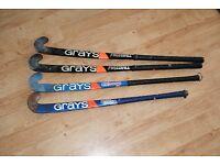 Four Greys Hockey sticks for sale