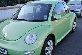vw volkswagen beetle 1.6 first car/cheap car