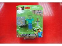 Minecraft Series #1 Zombie Brand New Original Packaging £9.99