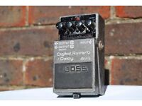 Boss RV-3 Vintage Digital Reverb / Delay - Pink Label Guitar Effect Pedal
