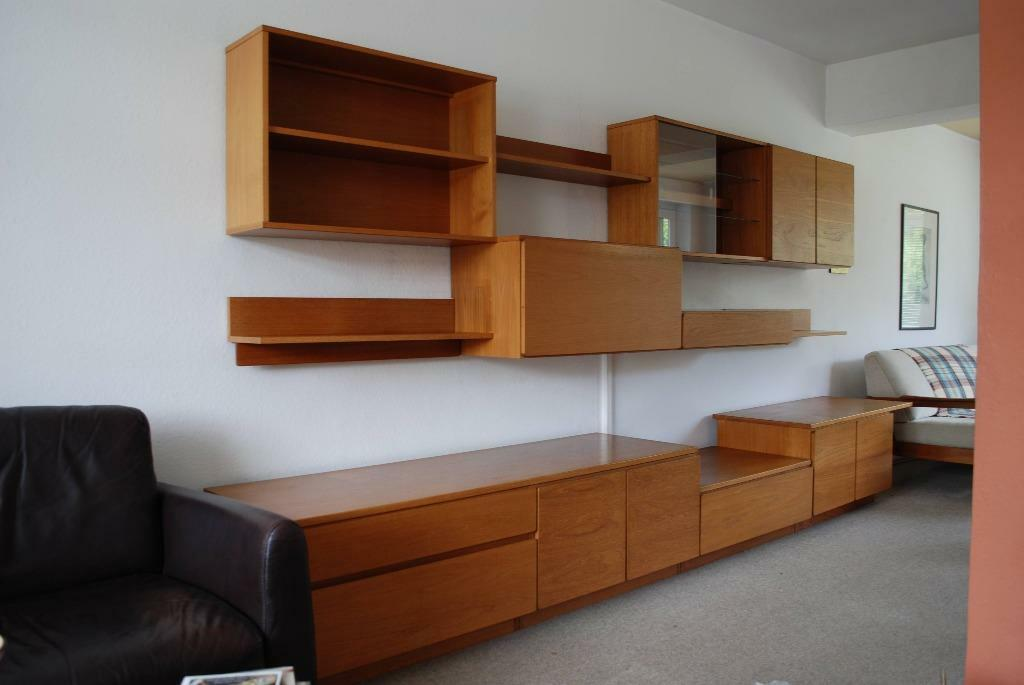 Vintage 70 S Style Tapley 33 Solid Teak Modular Wall Units