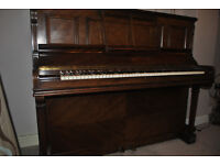 Upright Piano and piano stool for sale