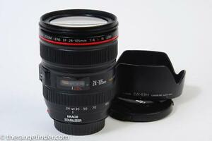 Canon 24-105mm f4 L IS Lens