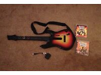 Guitar Hero PlayStation 3 PS3 with games