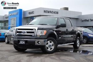 2014 Ford F-150 XLT, 4X4, TRI COVER, STEP UPS, NO ACCIDENT