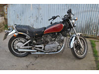 Yamaha XV750 project Barn find cafe racer project