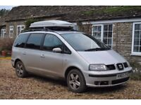 2003 SEAT Alhambra for Spares and Repairs
