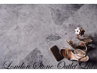 Silver Grey Empredor Honed / Matt Marble tiles - Real Marble/Natural stone for only £24 per m2
