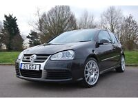 Volkswagen Golf 3.2 V6 R32 4Motion 3dr, Black, Recaro Wingback, Manual, FSH, 1 Prev. Owner, Long MOT