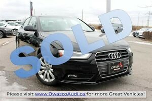 2013 Audi A4 *SOLD* 2.0T Tiptronic quattro w/ Anti-Theft System