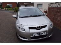 TOYOTA AURIS TR D-4D 1.4 DIESEL 2008 CAR ONLY 71800 MILES FSH ECONOMICAL MOT 0817 AT ONLY £3195