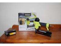 Air operated nail or staple gun kit with 5000 dewalt nails