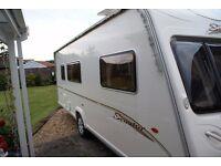 bailey senator caravan 2006 in excellent condition 4 berth end large bathroom