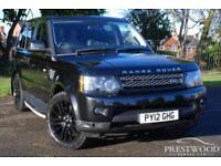 LAND ROVER RANGE ROVER SPORT 3.0 SDV6 HSE AUTO [255 BHP] (black) 2012