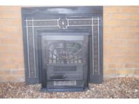 Dimplex Electric Log Fire with surround
