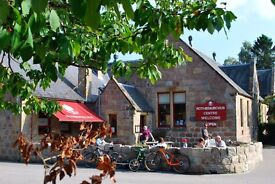 Breakfast Chef at The Druie Cafe, Rothiemurchus
