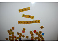 Fridge magnets - Alphabet, Scrabble style