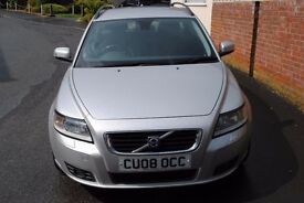 SOLD VOLVO V50 DIESEL ESTATE 2.0 MANUAL 2008 FULL MOT 2 OWNERS 108000 S/H P/XPOSSIBLE ONLY £2995