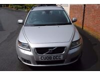 VOLVO V50 DIESEL ESTATE 2.0 MANUAL 2008 FULL MOT 2 OWNERS 108000 S/H P/XPOSSIBLE ONLY £2995