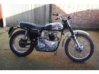 Vintage TRIBSA 1952 motorcycle, 650cc