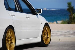 Enkei NT03 18x9.5 5x114 Gold - Immaculate Condition