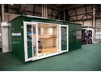 Shipping Container-style granny flat/glamping pod/garden room