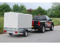 Box trailer 7x4 750kg single axle