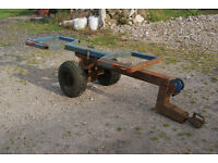 Two wheeled tow dolly