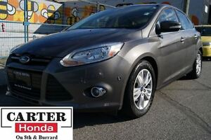 2012 Ford Focus SEL + LEATHER + BACKUP CAM + LOCAL!
