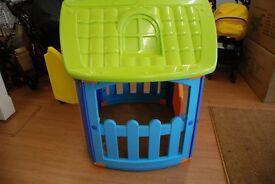 Childrens Plastic Playhouse BNIB