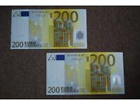 €400 Holiday Money Euros
