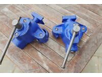 Pair of Marples (Irwin Record) Heavy Duty Floorboard Clamps/Cramps - Part No MFC 153 - in vgc