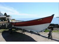 Clinker Boat / Western Isle Skiff for sale