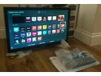 22in Samsung SMART LED TV 1080p Wi-Fi FREEVIEW HD