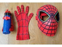 The Amazing Spider-Man Web Shooter with Glove and Mask