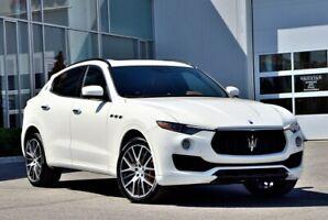 2017 Maserati Levante SQ4  GROUPE SPORT COMME NEUVE