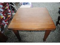 Victorian Wind out Table with one extra leaf