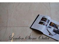 Crema Rosalia Polished Marble Tiles 61x30cm (27m2 JOBLOT DEAL)